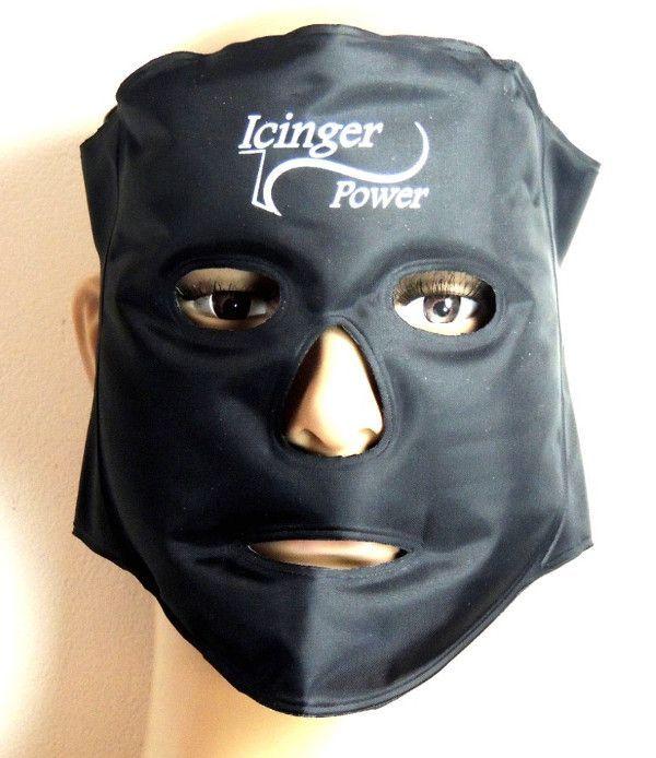 Masque chaud et froid pour activer la circulation sanguine dans le visage.